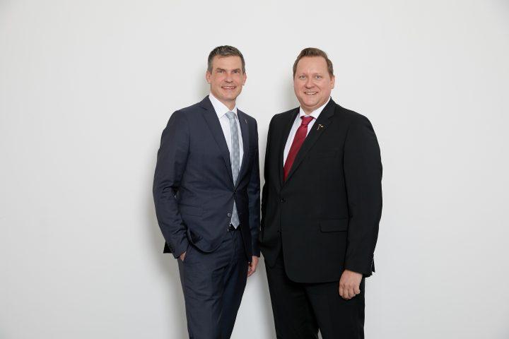 Das Führungsduo der neuen BAW: Matthias Holz (l.), Nils-Peter Hey (r.)